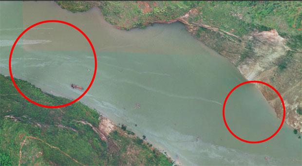 2014年8月6日14時獲取的無人機影像